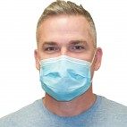 Advance Basic Procedure Earloop Masks - Blue