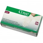 Curad Powder-free Latex Gloves - Large