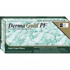 DermaGold PF Latex Powder-Free Gloves - Small
