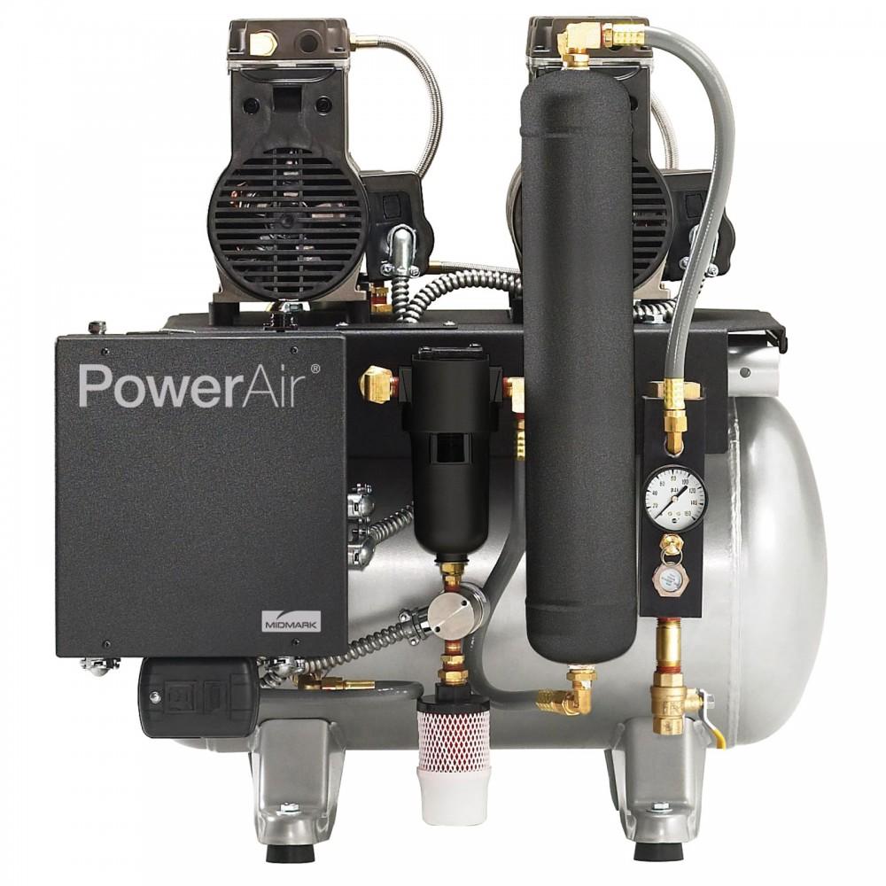 Powerair P21 Oil Less Air Compressor Oil Less