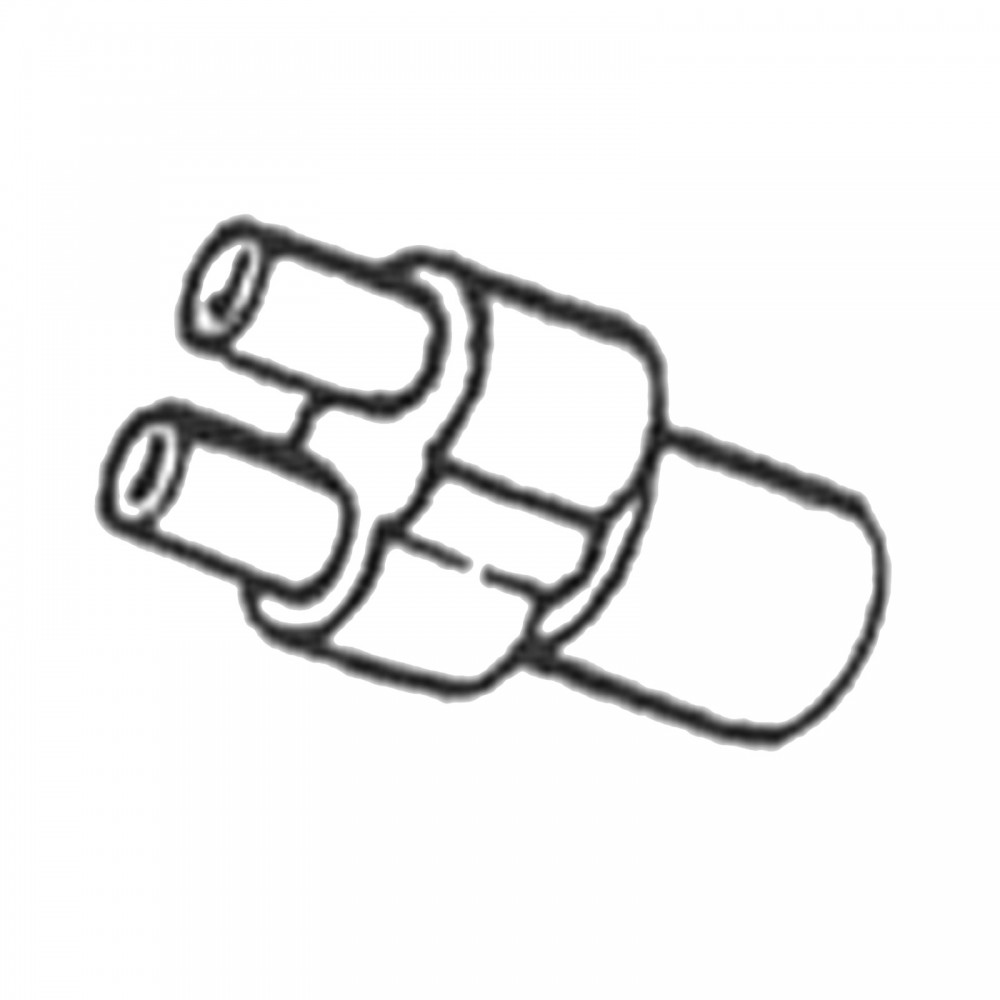 large  u0026quot y u0026quot  connector for scavenging system