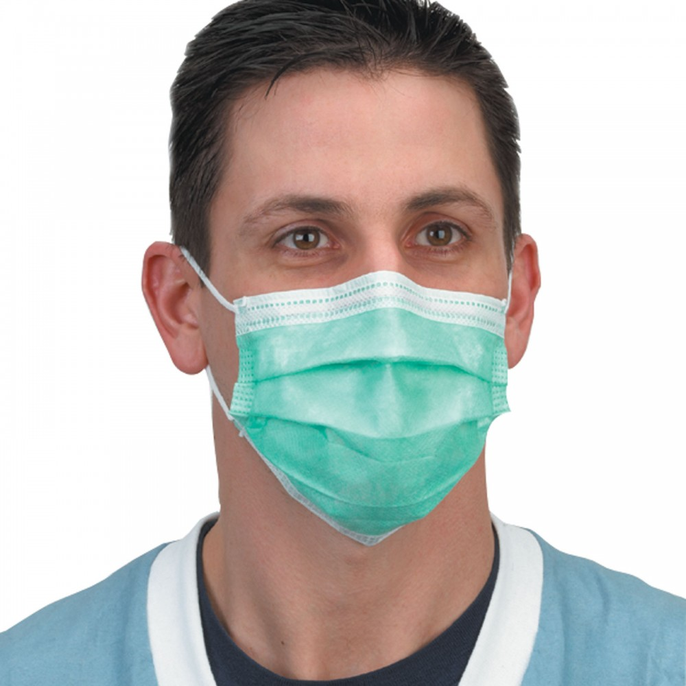 Face Mask: Crosstex Isofluid Earloop Masks