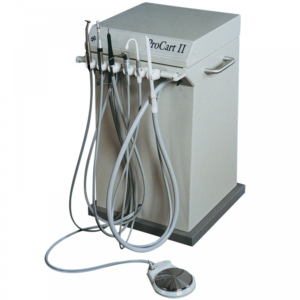 Procart ii mobile treatment console portable dentistry for Console mobile