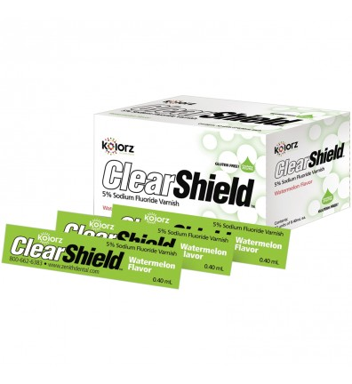 Kolorz ClearShield 5% Sodium Fluoride Varnish - Watermelon