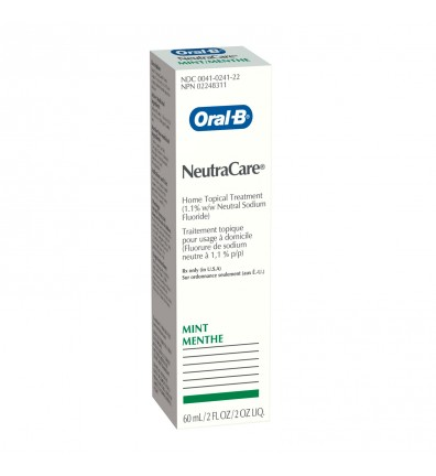 Oral-B NeutraCare Fluoride Home Treatment