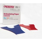 Crosstex Horseshoe Red/Blue Articulating Paper