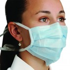 Defend Blue Diffuser Tie-on Mask