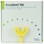 AccuDent XD Alginate Impression System Size 5 Small Lower Dentate Trays 12-pk