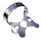 Ivory Rubber Dam Clamp - Molar Wingless W8a