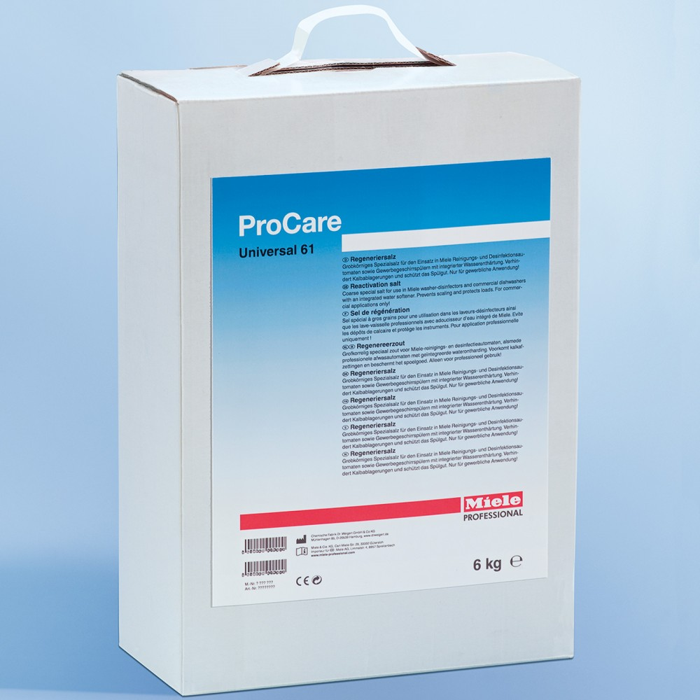 Procare Universal 61 Salt Supplies