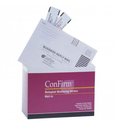 ConFirm Mail-In SterilizerMonitoring System - 12-pack