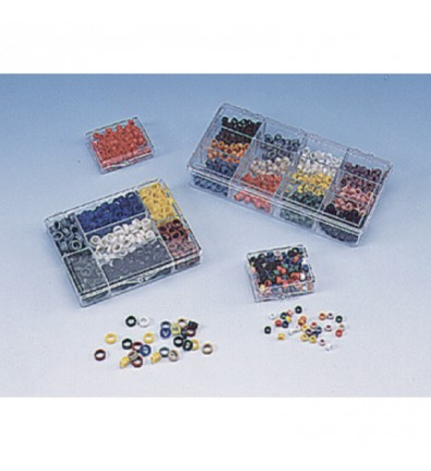 Assorted Instrument Code Rings - Small
