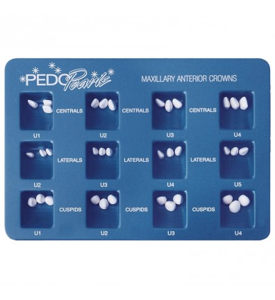 PedoPearls Pediatric Crowns - Anterior Kit