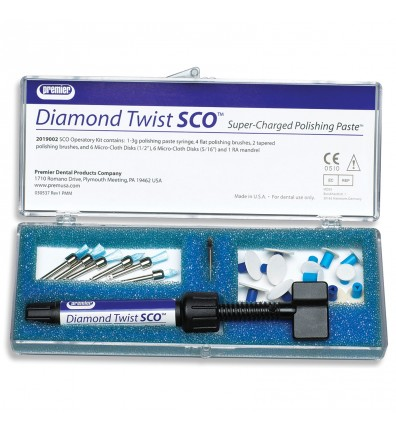Diamond Twist SCO Intraoral Polishing Paste Kit